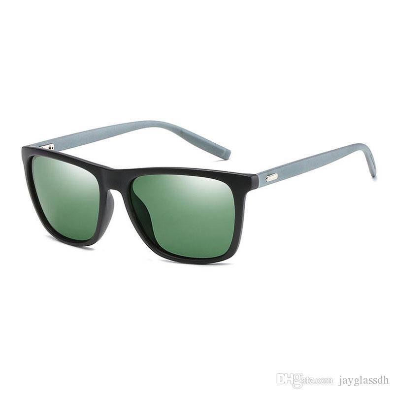 New Arrival Spolaryzowane Okulary Mężczyźni Moda Okulary Podróży Mężczyzna Retro Driving Sunglass Outdoor Sport Okulary Mężczyźni Dorywczo Okulary