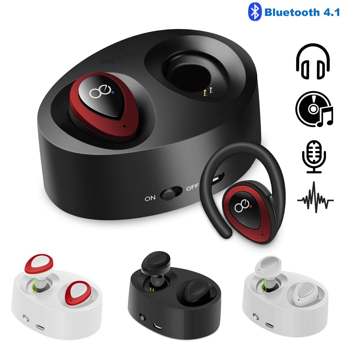 Mini TWS K2 Kablosuz Twins Bluetooth Stereo Kulak Kulaklık Kulaklık Kulakiçi Kulaklık ile Şarj Soket Kulaklık