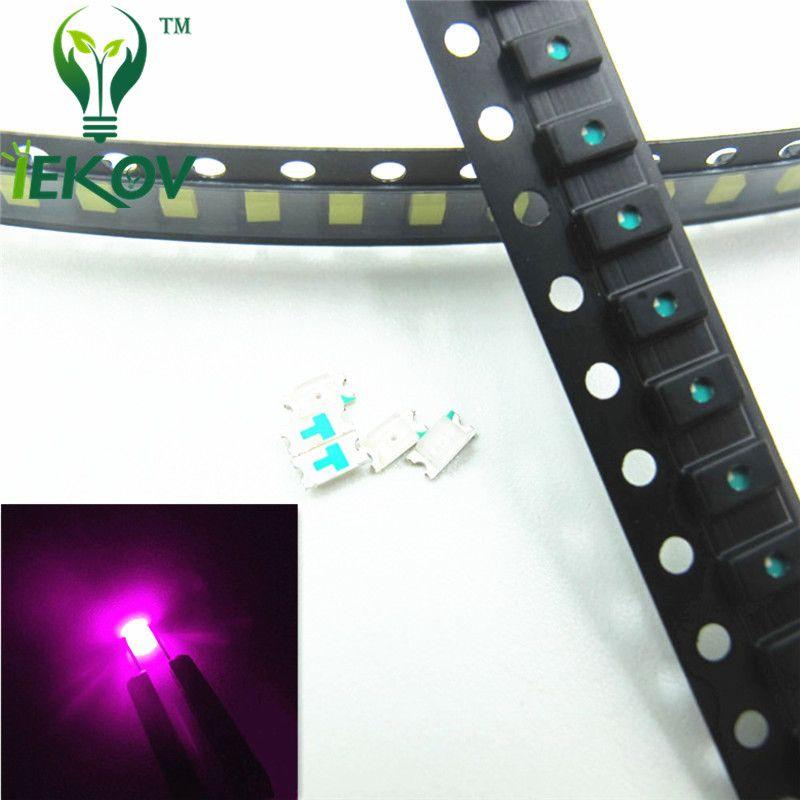 1000pcs 0603 SMD / SMT Pembe Yüksek Kalite LED SMD Chip lamba boncuk Ultra Parlak Işık Yayan Araç DIY için uygundur Diyot