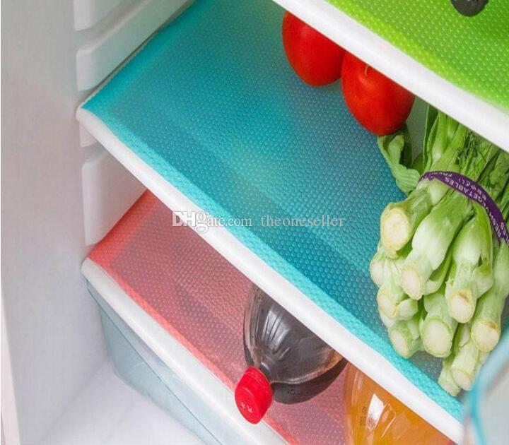 DHL Freeshipping Kühlschrank Gefrierschrank Matte Kühlschrank Bin Antifouling Anti Frost Wasserdichte Pad