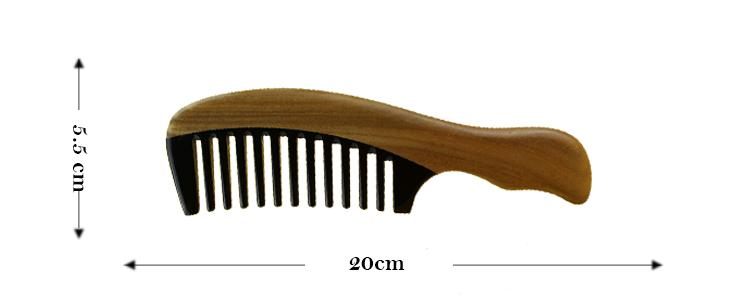 horn comb008 size