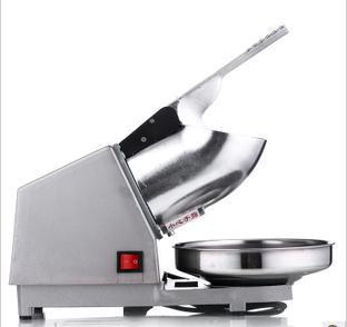 Frullatore di ghiaccio elettrico macchina frullatore macchina sabbia ghiaccio macchina lama vassoio del cubo di ghiaccio dimensioni rotte regolabile