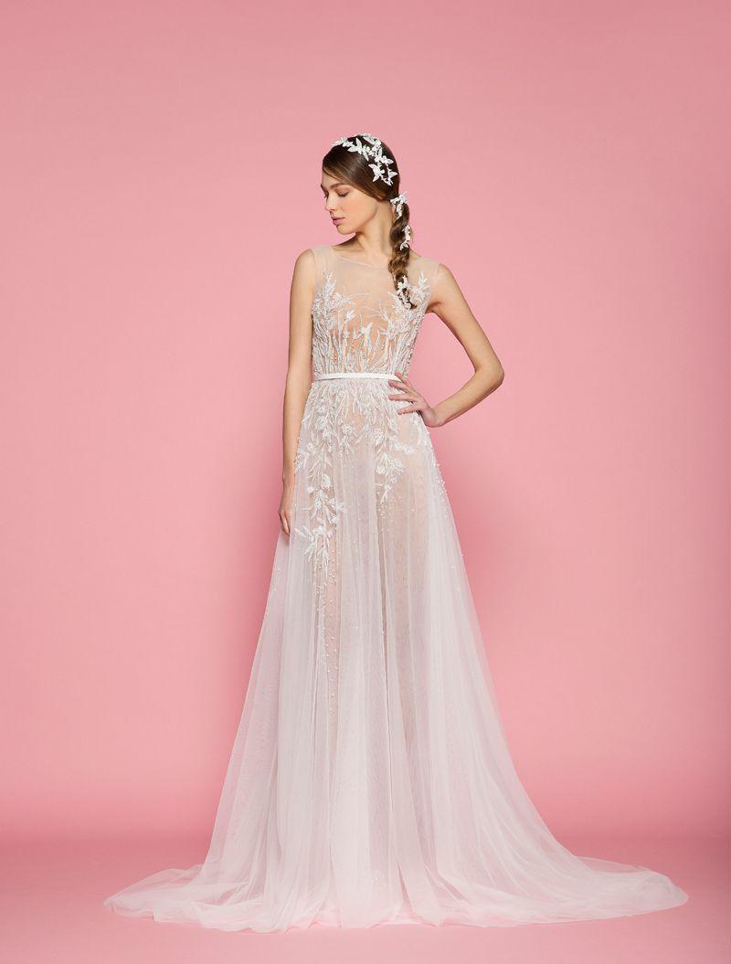 Discount 6 Models Princess A Line White Summer Wedding Dresses 2018 ...