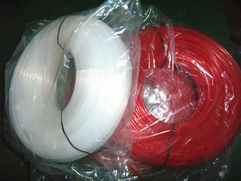2 rotoli x filo di nylon linea rotonda .065 '' / 1,6MM 1 LB. / roll pack di erogazione facile da 2 lb per elettrico di qualità premium strimmer