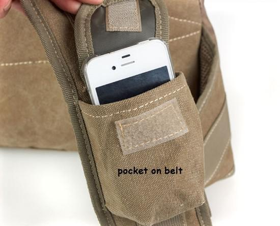 words details-belt pocket