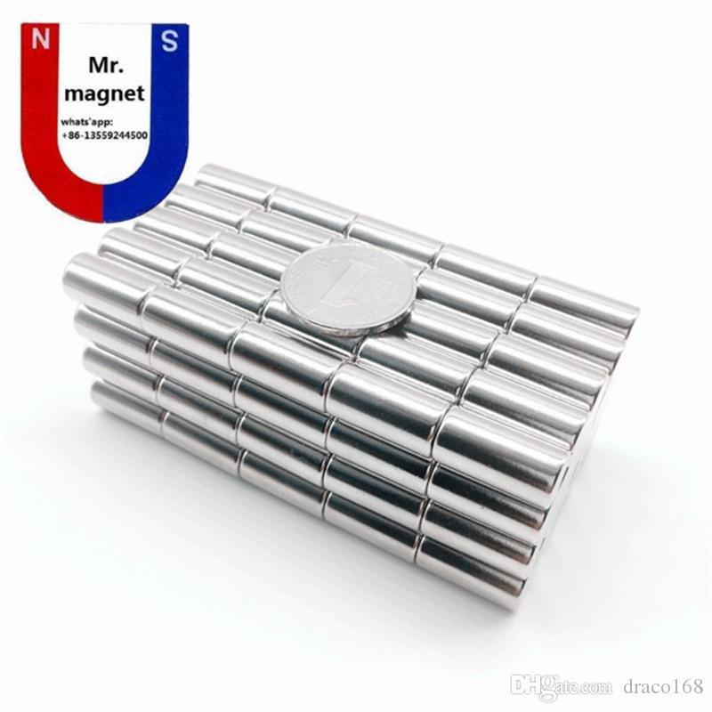 10 stücke D10x20mm D10x20 10 * 20mm D10 * 20 10x20mm neo neodym N35 dauerhafte seltene erde magnet 10mm x 20mm 10x20