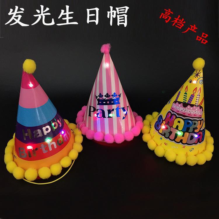2015 a nova fábrica de venda direta da tampa luminosa para boné e chapéu infantil