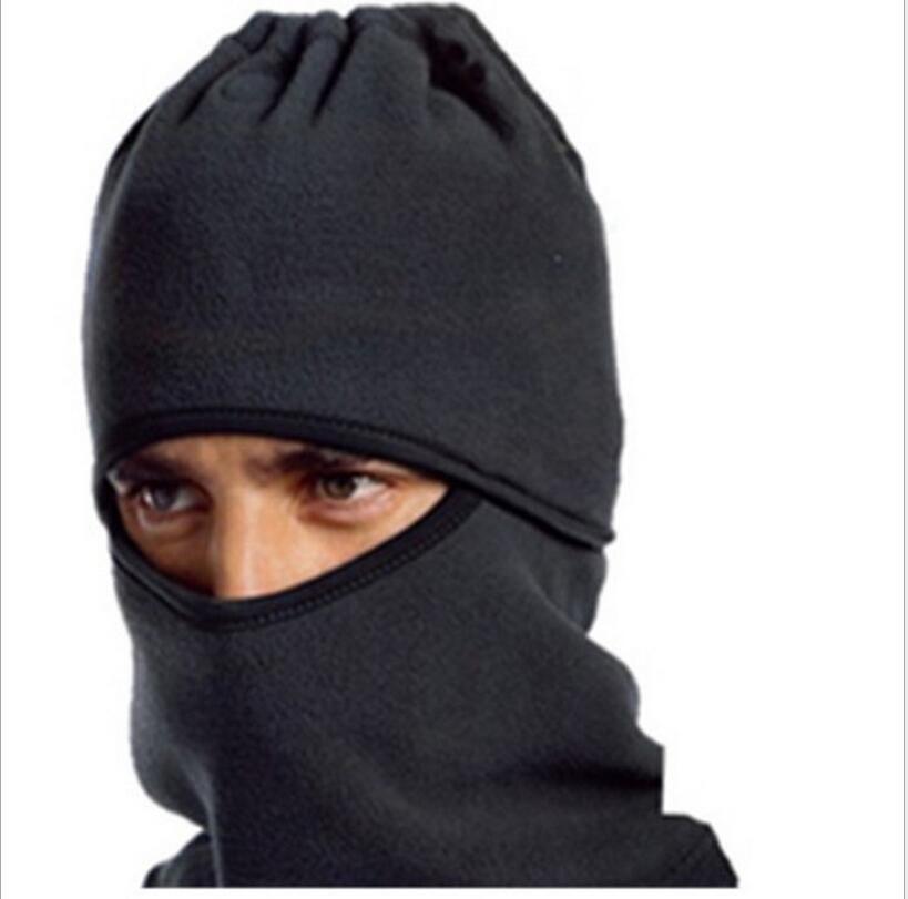 Hiver Caps cyclisme bonnet de ski chaud masque capuche polaire multifonction chapeau de mode sport en plein air masques CS chapeaux de protection face à