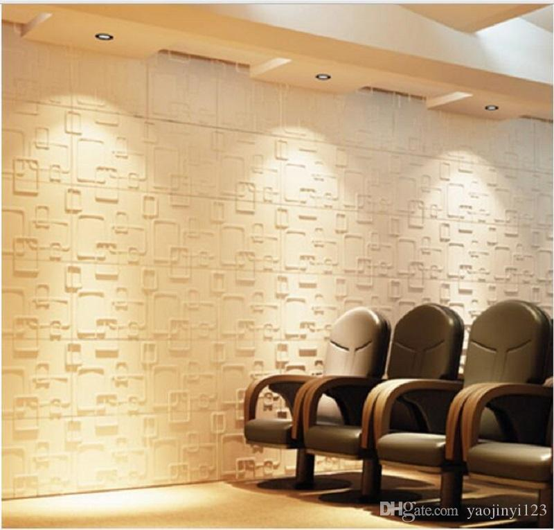 3d Interior Panel Pvc Wall Panels For Restaurant Wall Stickers For ...
