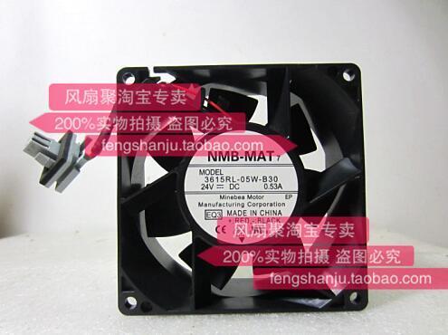 Ventola originale inverter NMB-MAT 3615RL-05W-B30 9CM 92 * 92 * 38 24V 0.53A