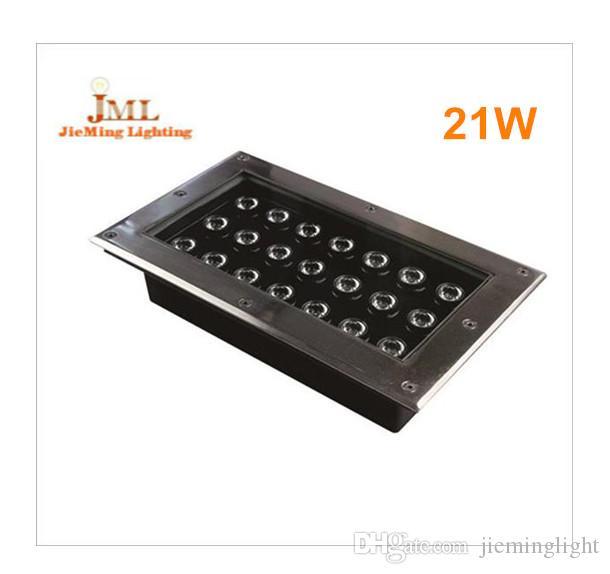 Verwenden Sie die Notbeleuchtung 21W DC12V 24V 85-265V LED-Untergrundleuchte 10pcs / lot LED-Untergrundleuchte IP 67 LAMPEN