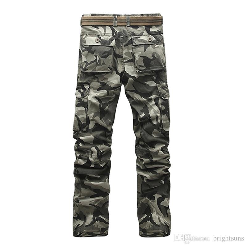 Pantalon cargo militaire de nouvelle marque pour hommes pour hommes