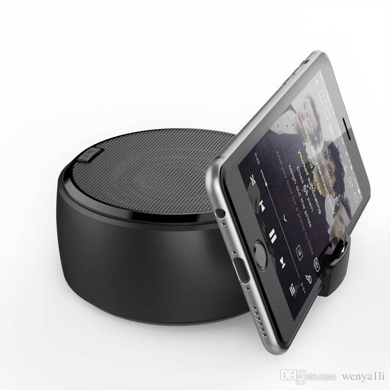 BG-1 wireless Bluetooth speakers mini small audio portable card U disk subwoofer creative mobile phone bracket