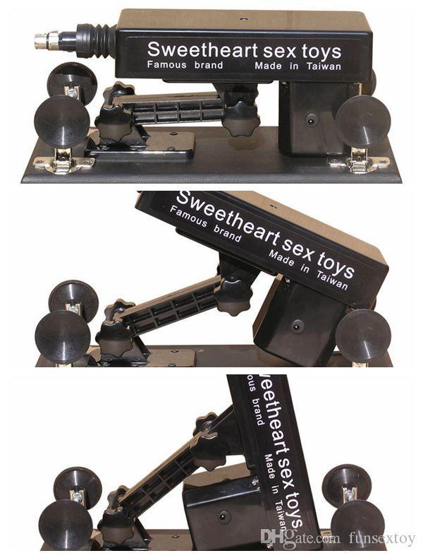 Gun machine / Love mitrailleuse / 2019 Newsex mitrailleuse auto sexe machine pour femme gode jouet vagin; vitesse: 0-450 fois m