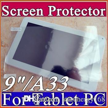 """Protetor de filme protetor de tela original guarda para 9 """"9 polegada A13 A23 A33 ATM7021 ATM7029 Tablet Android PC E-PG"""