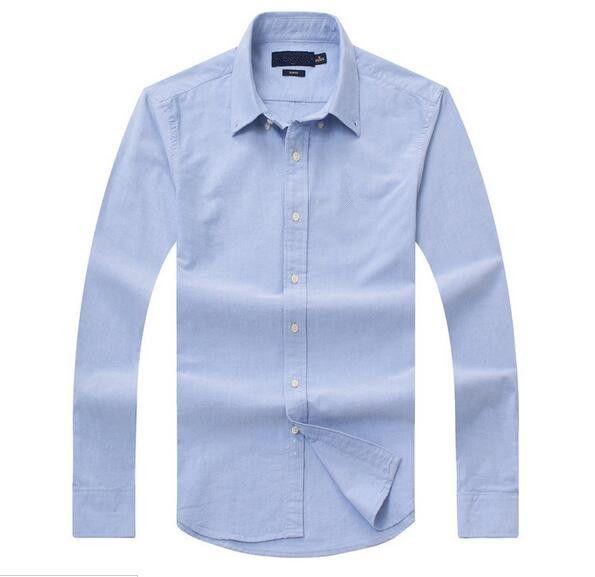 مبيعات جديدة الجمارك الشهيرة تناسب القمصان عارضة الشعبية جولف أعمال التطريز لعبة البولو قميص ملابس رجالية طويلة الأكمام