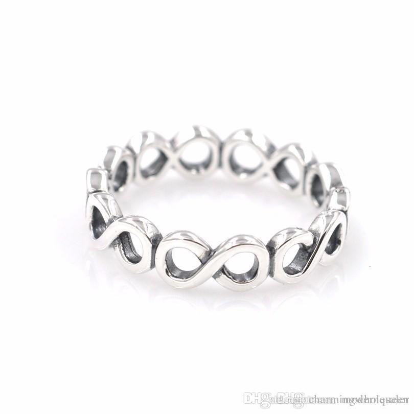 anello pandora con infinito