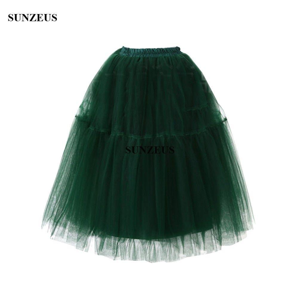 Großhandel 1950er Jahre Vintage Tüll Petticoats Knielangen Rock ...
