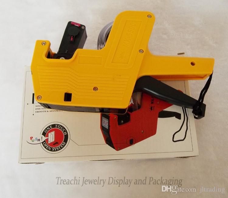 Бесплатная доставка оптовых MX-5500 Ценник Этикетки Маркер Ценник пистолет Одежда Ценник Этикетка Пистолет