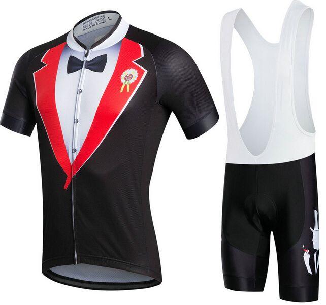 Gentleman Ropa Ciclismo Fahrradbekleidung / MTB Fahrradbekleidung / Fahrradbekleidung / 2019 Radsportuniform Mans Radtrikots 2XS-6XL A33