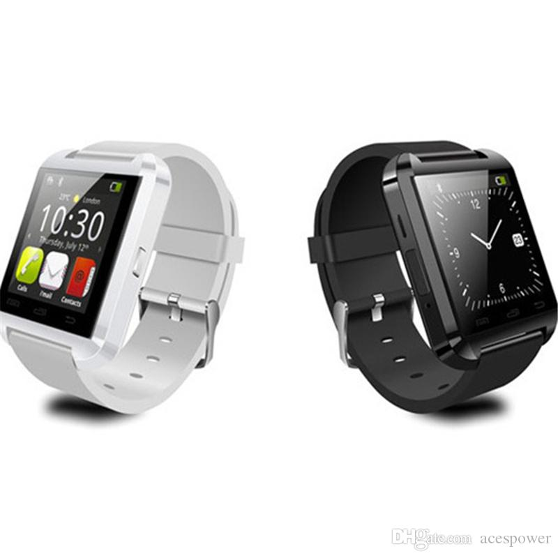 Smart Watch U8 U Watch Smart Watches For Smartwatch Samsung Sony Huawei Android Phones Good with Package