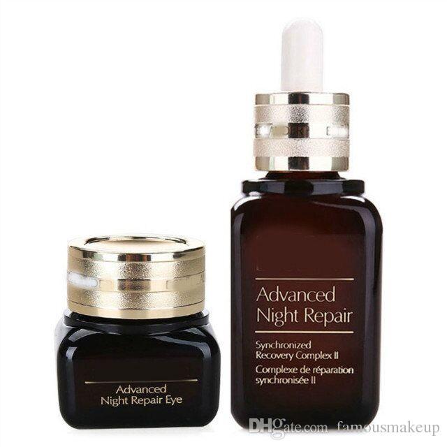 New Advanced Night Repair Crèmes Complexe Synchronisé Pour Les Yeux 50ml + 15ml Pour Tous Les Skintypes 2pcs / set en vente livraison gratuite