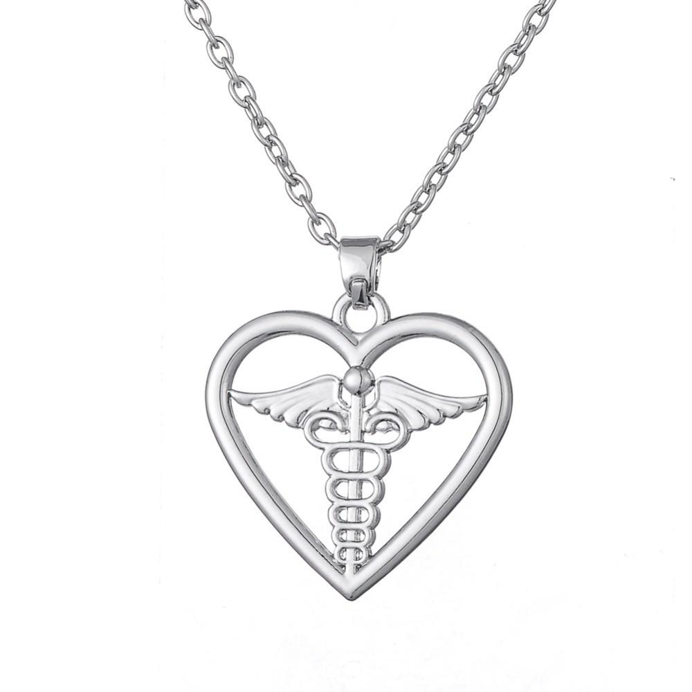 Medical-Symbol-Caduceus-in-Heart-Pendant-Necklace-for-Doctor-And-Nurse