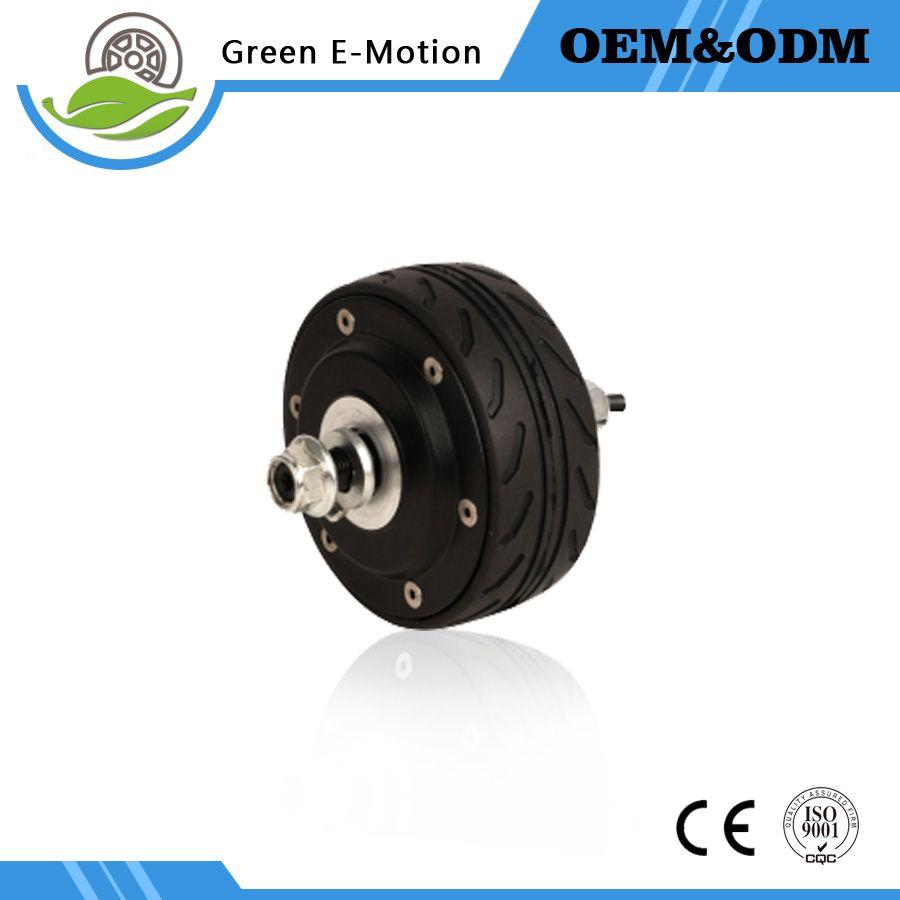 alta qualità 4 pollici elettrico mozzo ruota motore 100mm diametro 24 V / 36 V 200 W e-scooter di skateboard