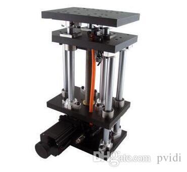 Plataforma elevadora eléctrica PT-GD403, Laboratorio motorizado Jack, Elevador, Elevador óptico deslizante, 100 mm Trave