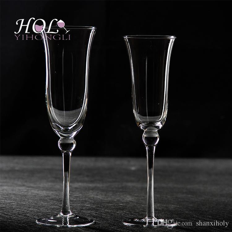 HOLY chumbo vidro vidro champanhe