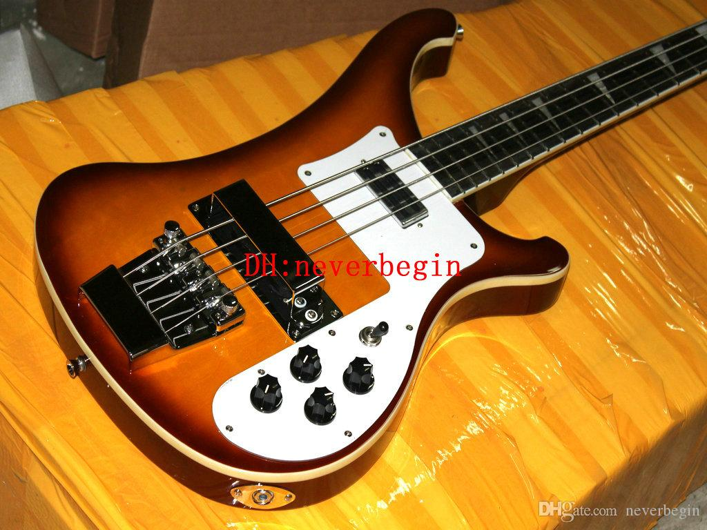 NEW 4 string Bass 4003 Electric Bass guitar Fire Burst Wholesale guitars from china