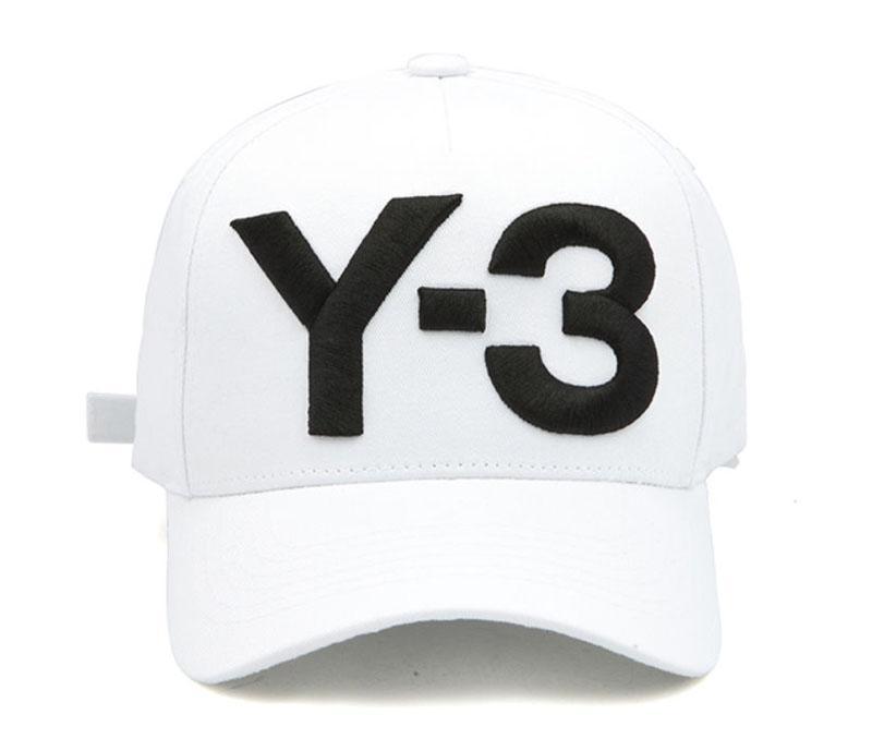 Топ мода Y-3 Папа шляпа большой смелый вышитые логотип бейсболки регулируемые Strapback шляпы Y3 кости Snapback спорт Casquette козырек gorras