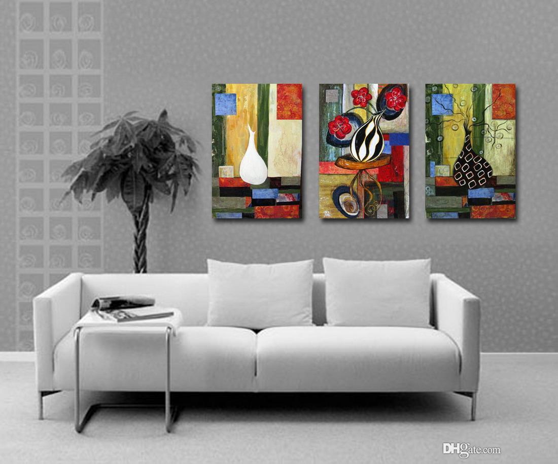 캔버스 홈 장식 벽 예술 Set30163에 현대 아름다운 꽃 좋은 꽃 회화의 giclee 인쇄