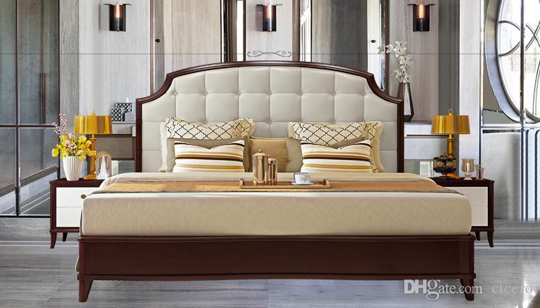 Acquista Letto In Stile Americano, Letto King Size, Mobili Moderni Camera  Da Letto A $13065.33 Dal Cicero | DHgate.Com