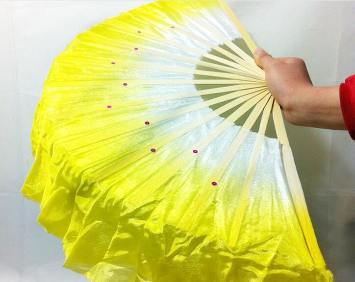 Freies Verschiffen-neue Ankunfts-chinesische Tanzfan-Seidenschleier 5 Farben verfügbar für Hochzeitsfestbevorzugungsgeschenk