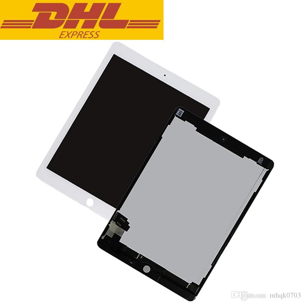 For Ipad Air 2 2nd Ipad 6 A1567 A1566 LCD Display Touch Screen Digitizer Glass Lens Assembly Replacement Wholesale