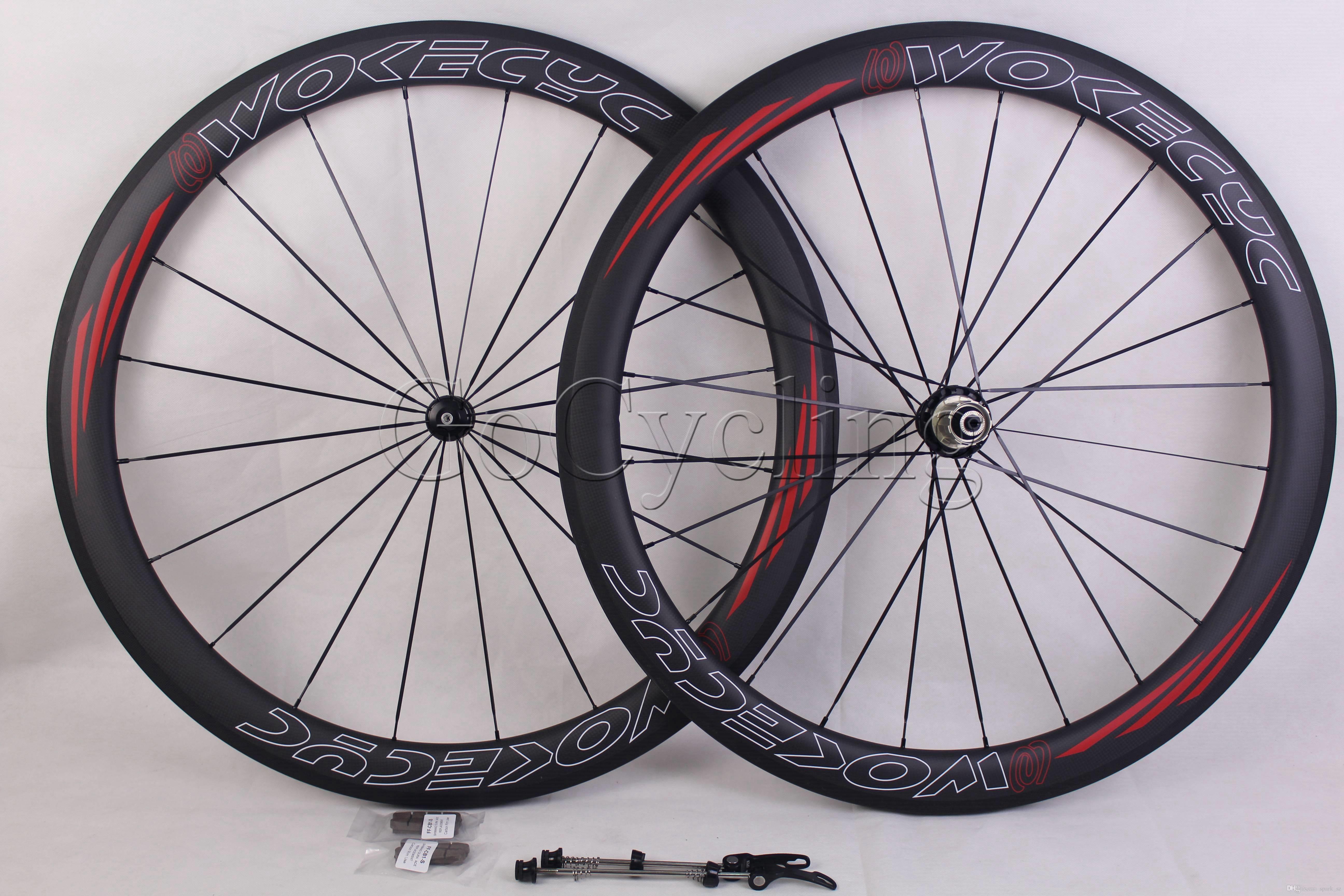 carbon bicycle wheels with Carbon Hub R36 Basalt brake surfce rim depth 50mm clincher tubular road cycling bike racing wheelset 700C
