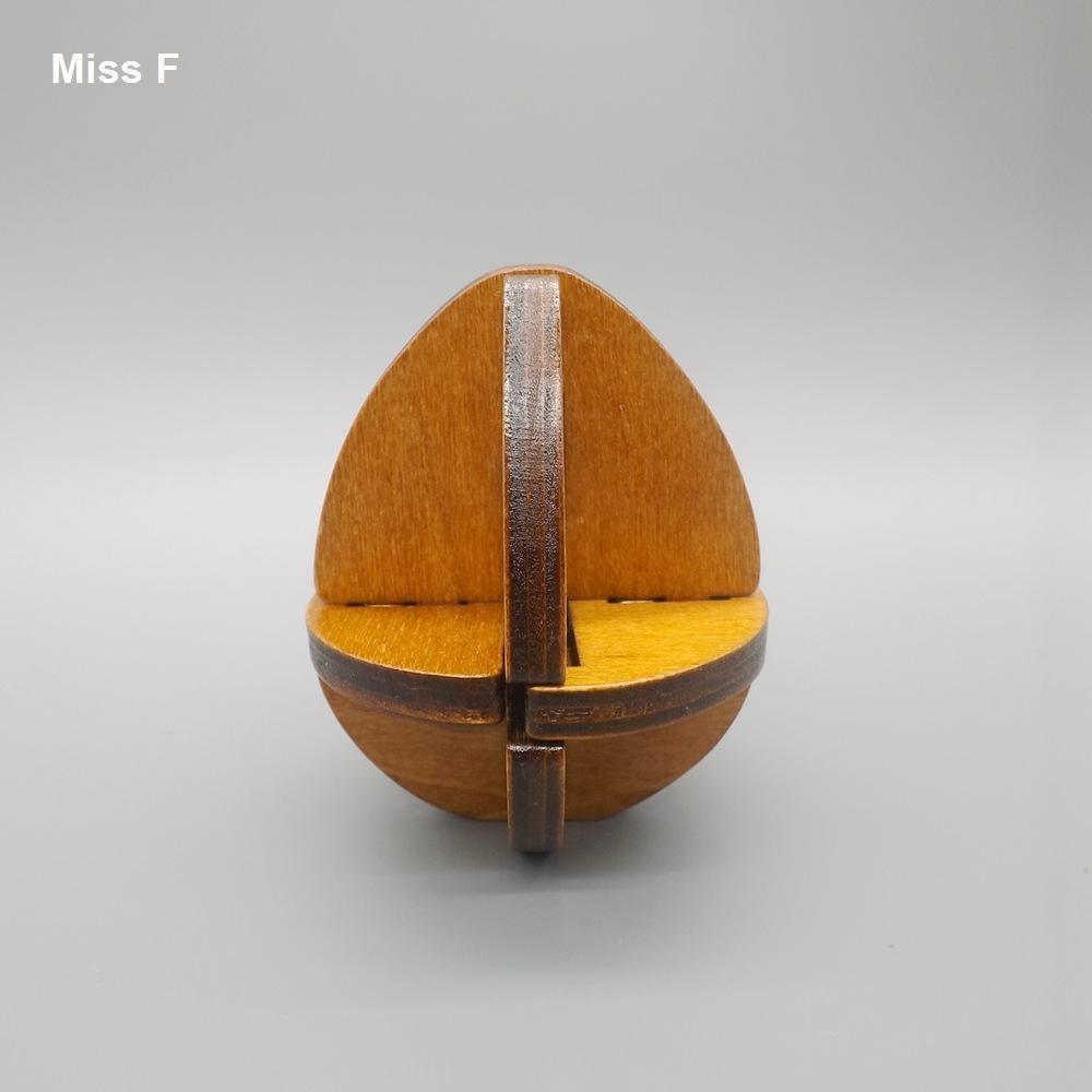 Juguetes chinos clásicos Kong Ming Lock Juguetes educativos de madera Ejercicio para niños Cerebro