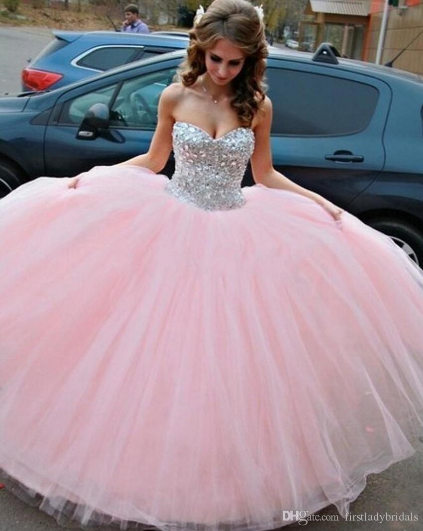 Sweet Sixteen Pink Dresses