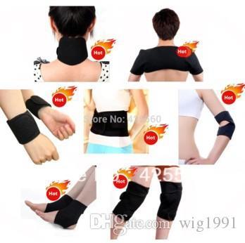 Tourmaline autoriscaldante cintura cintura ginocchiera al polso supporto per la spalla caviglia gomito terapia magnetica Bretelle impostare l'assistenza sanitaria