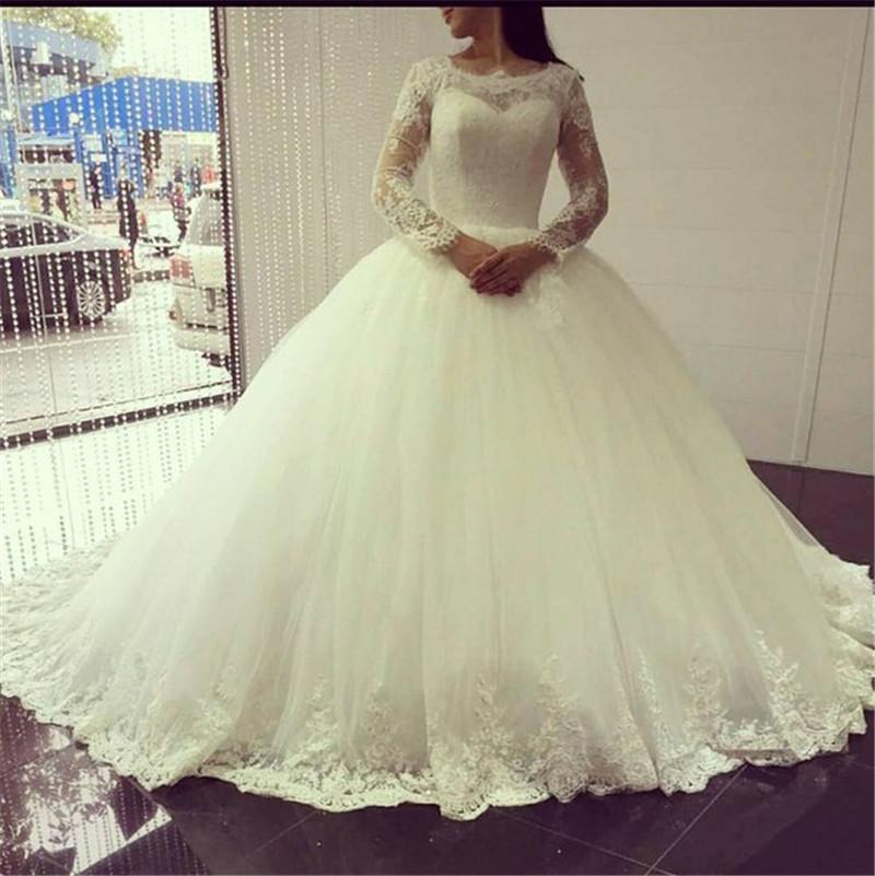 Pnina Tornai Princess Ball Gown Wedding Dresses 2016 Lace Long ...
