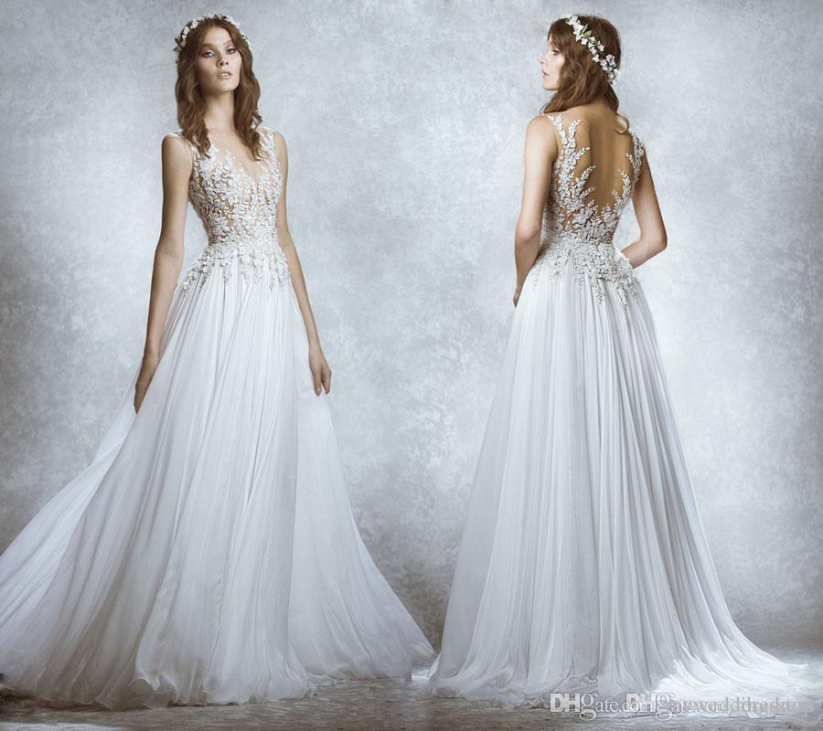 Discount Modest Vintage Lace Millanova 2016 Wedding Dresses Bateau ...