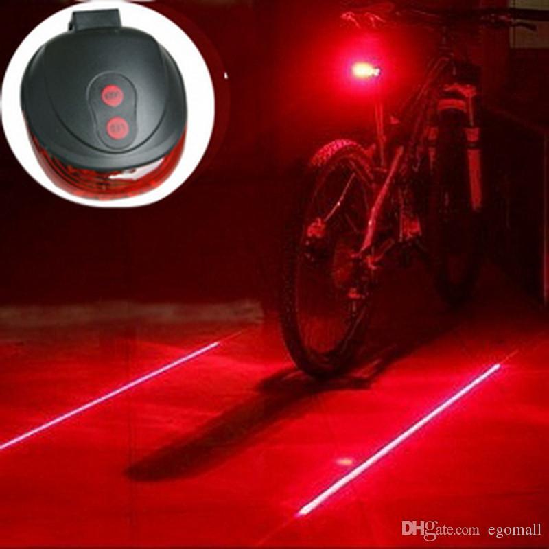 Safety Flashing Bike Cycling LED Rear Safety Light Warning Tail Lamp Waterproof