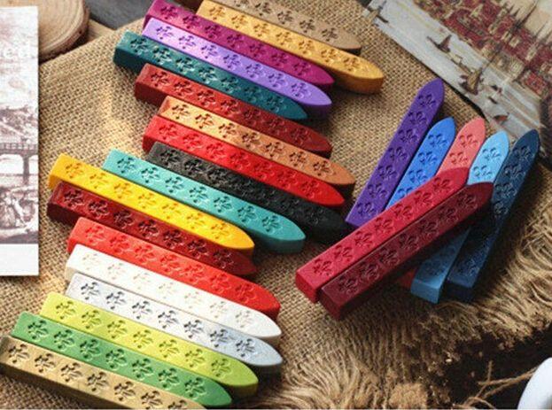 Wholesale-multicolor selo de cera selo selo de cera vara selo cola de cera
