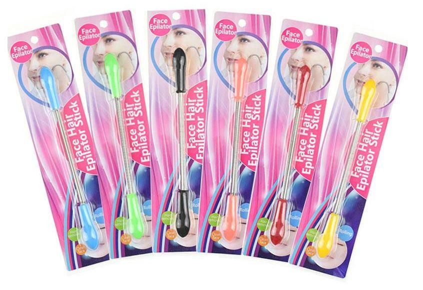 Candy Farbe Gesicht Gesichts Haar Frühling Remover Stick Removal Threading Nizza Werkzeug Epilierer Gesicht Schönheit Werkzeug