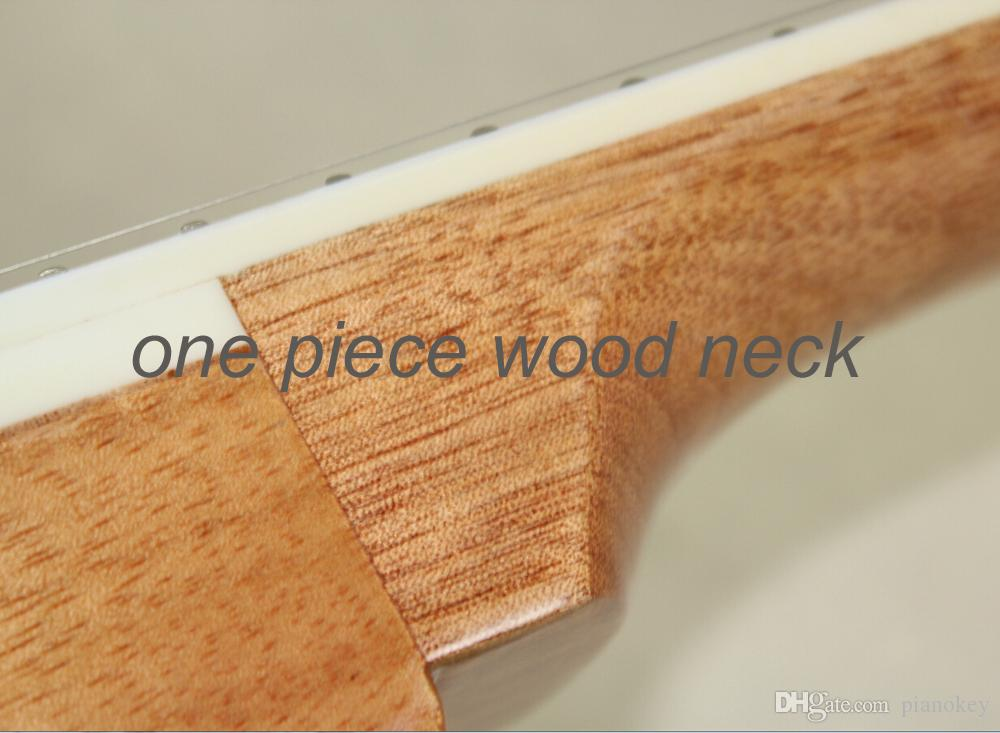 One piece mahogany neck,must order it together with guitar