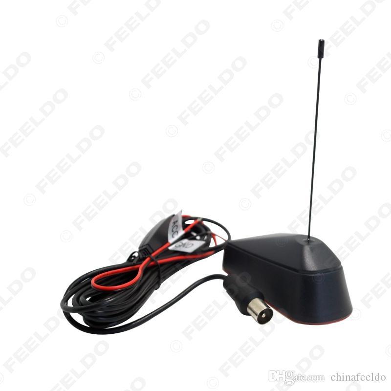 Leewa IEC DVB-T-connector Actieve antenne met ingebouwde onderbreker voor digitale tv-versterking Topbox # 943
