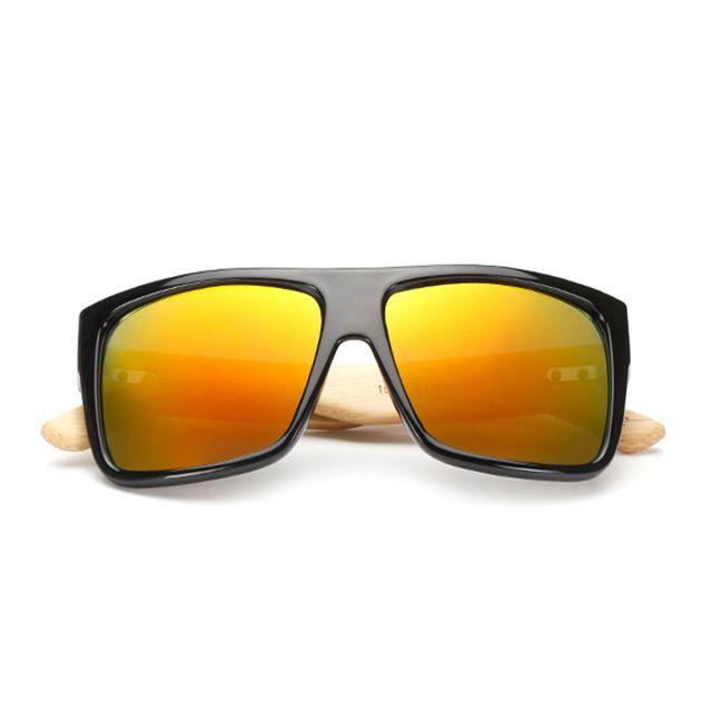 New Sunglasses bambu Mens Vintage Madeira Óculos Mulheres Marca Designer Original Madeira Sun Glasses Moda Homens Oculos Masculino com caso