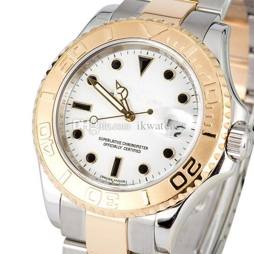 Gorąca sprzedaż Najwyższej jakości Zegarek Automatyczne męskie zegarki dla mężczyzn Auto Data Wristwatch Turn Wezel Stal nierdzewna 062