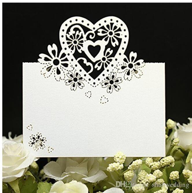 Laser Cut Place Cards Wedding Name Cards Guest Name Place Card Wedding Party Table Decoration Wedding Decoration Winter Wonderland Wedding Decorations Backyard Wedding Decorations From Shunwedding 21 99 Dhgate Com